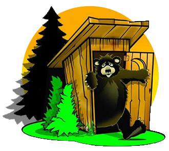 Northwoods-Portable-Toilet-Bear-Outhouse